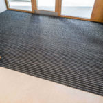 Indoor Geggus Entrance matting with Ribbed Carpet