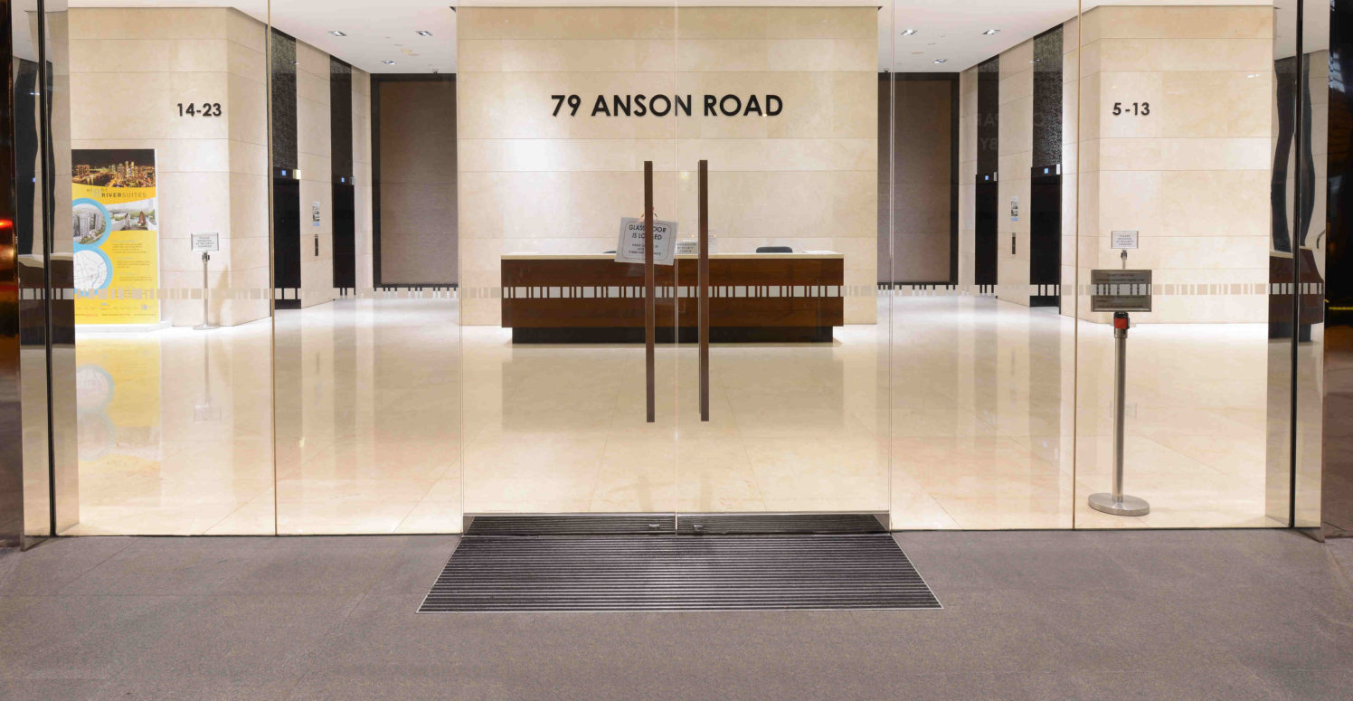 79 Anson Road Geggus Entrance Matting