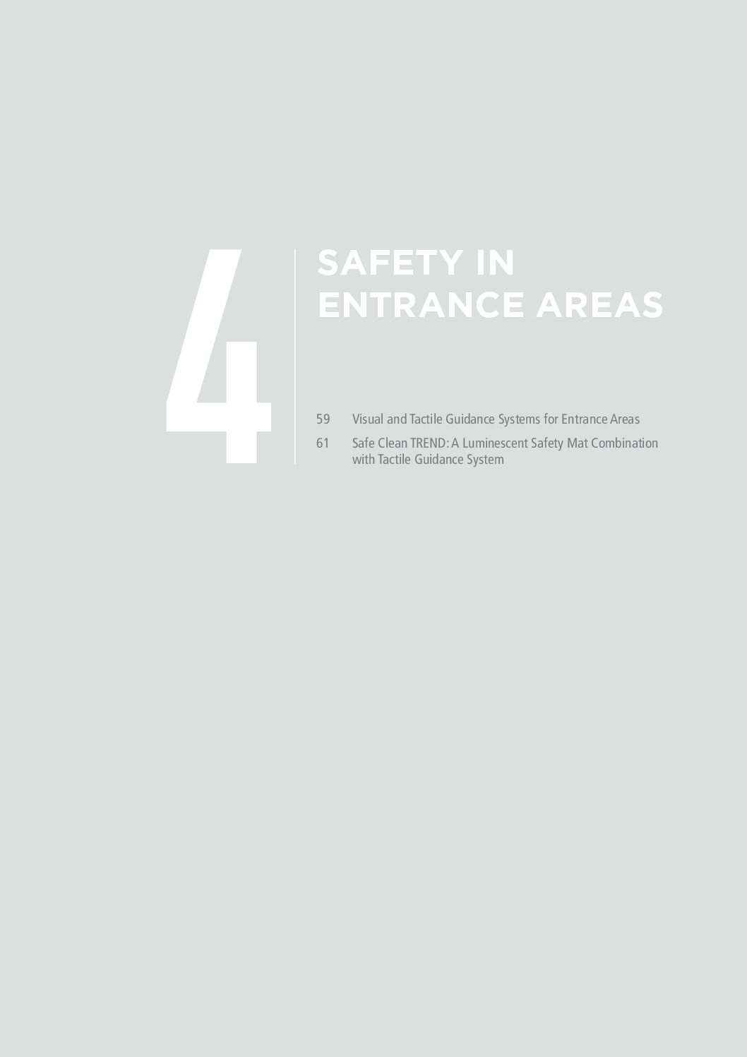 Part 4 - Safety In Entrance Mats - Geggus Brochure PDF