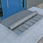 Outdoor Geggus Entrance Matting with Dirt collecting tray
