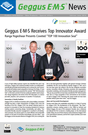 Geggus News - Top 100 - English as PDF file