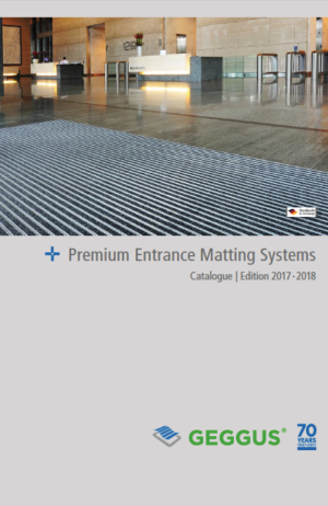 Catalogue GEGGUS- Entrance Matting Systems