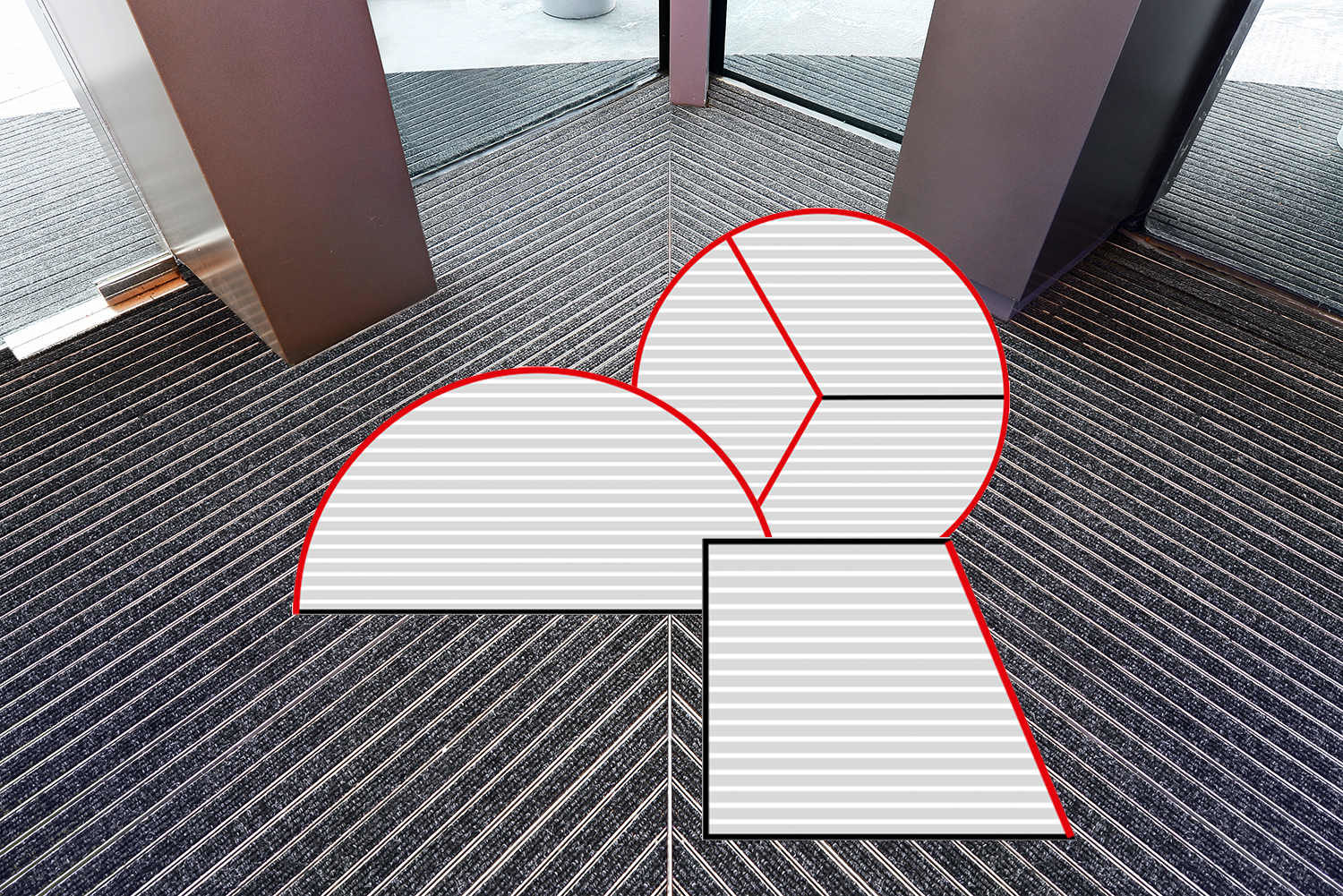 Geggus Entrance Matting Special Frame Sizes